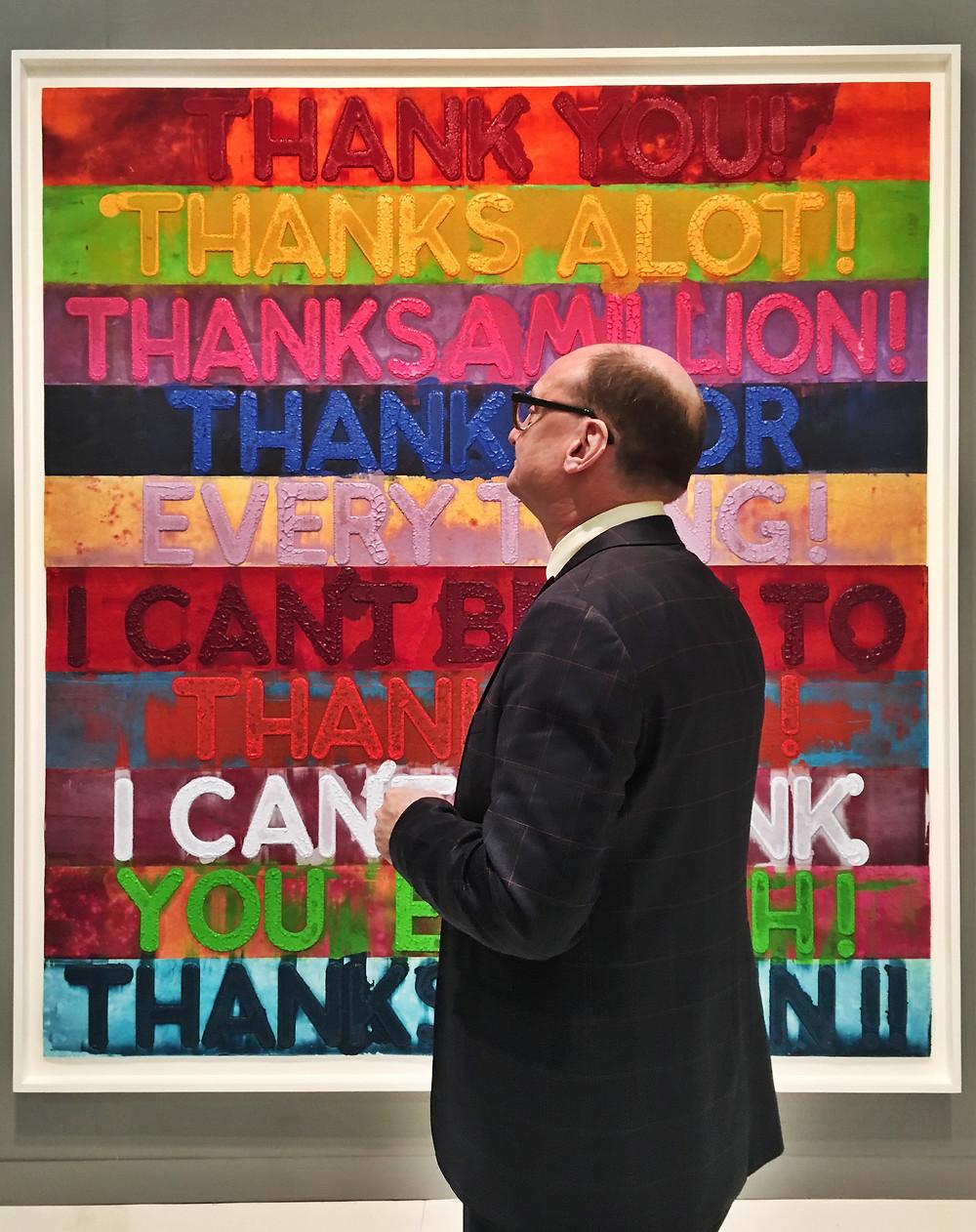 armory show 2017, pier 92, new york, nyc, howl magazine new york, chelsea art group, art, show, manhattan, donald christiansen, art advisory firm, invest in history, buying art, mel bochner, warhol, modern art,