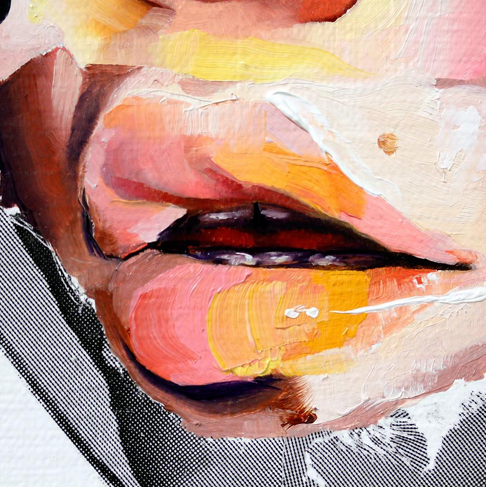 lips, color, orange, AUTHORIZED, to, work, in, the, USA, print press, brooklyn, am debrincat, debrincat, art show, free, nyc, painter, multimedia, events this week, weekend, new york, art, fine art, gallery, galleries, artist, female artists, paint, risograph, howl magazine, new york