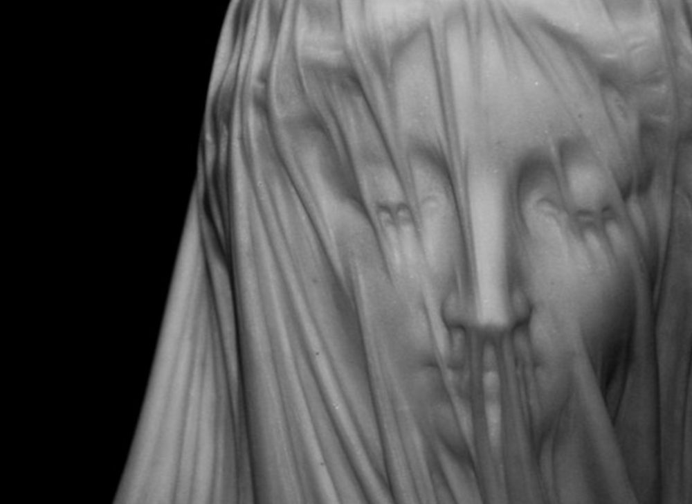 sculpture, classical, modern, art, artist, howl magazine, sculptors you should know, new york, art, fine art, antonio corradini, veiled figures, detail, marble