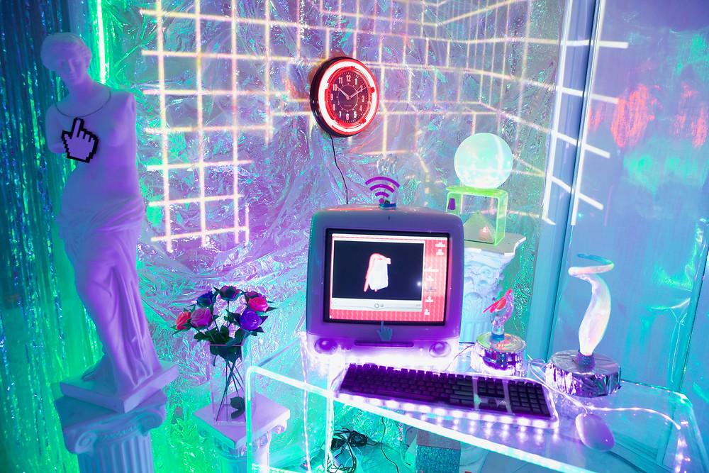 Open Color Presents The Secret Paths to M a r i n a F i n i July 15th 6-10pm Open from July 16-29 Heron Arts, San Francisco, marina fini, artist, plexiglass, virtual, digital, art, installation, nature, acrylic, colors, plants, howl magazine, interview, press, julia de la torre, nyc, new york