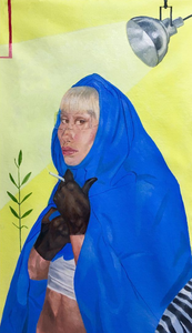Andre Moya, Painter, san francisco, seattle, oil paint, portrait, portraiture, fine art, mary rosenberger, women, muse, howl magazine, nyc, new york, andré moya, interview, feature
