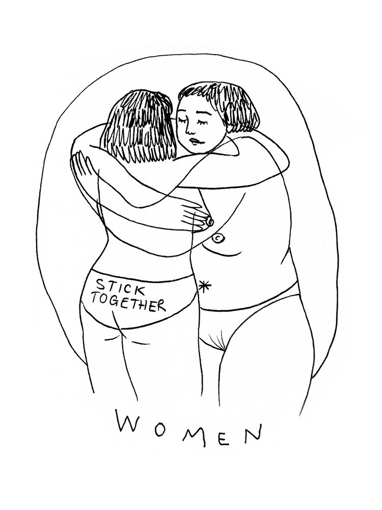 howl magazine, new york, art, interview, frances cannon, illustration, australian, feminist, body positive