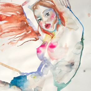NYC EVENTS: Watercolor Artist Fahren Feingold Debuts Solo Show