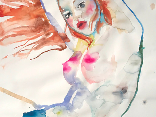 NYC EVENTS: Watercolor Artist Fahren Feingold Debuts Solo Show