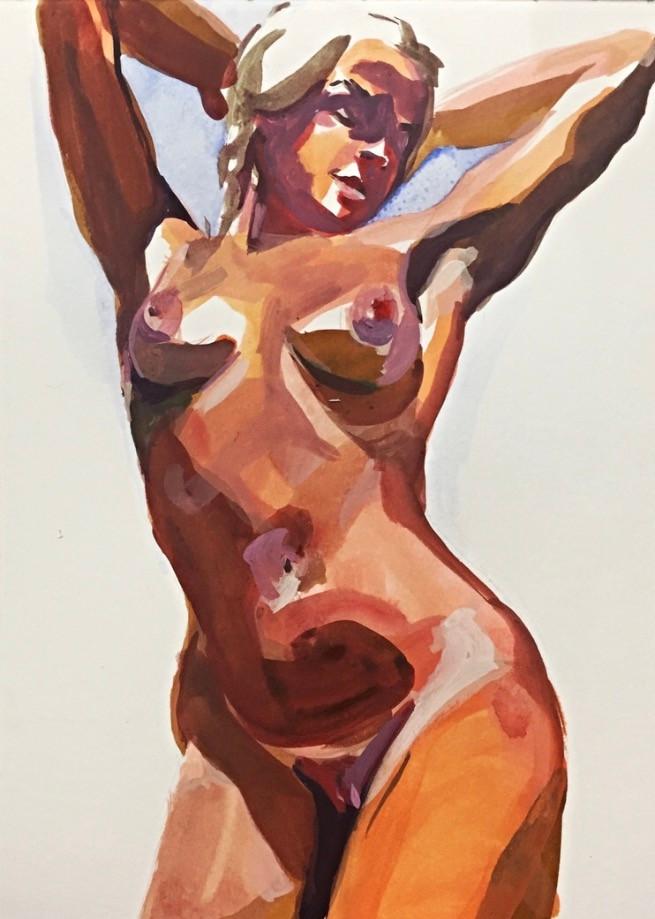 Lily Jane Brown, philadelphia, Wynnewood, PA, artist, oil, painter, acrylic, paintings, nude, naked woman, art, gender, interview, artist feature, julia de la torre, howl magazine, howl new york, nyc