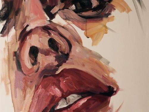 Sammy Kimura: Painting the Female Form in Broad Brushstrokes