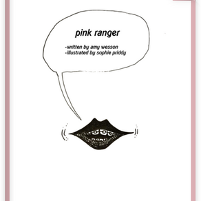 Book: Pink Ranger by Amy Wesson