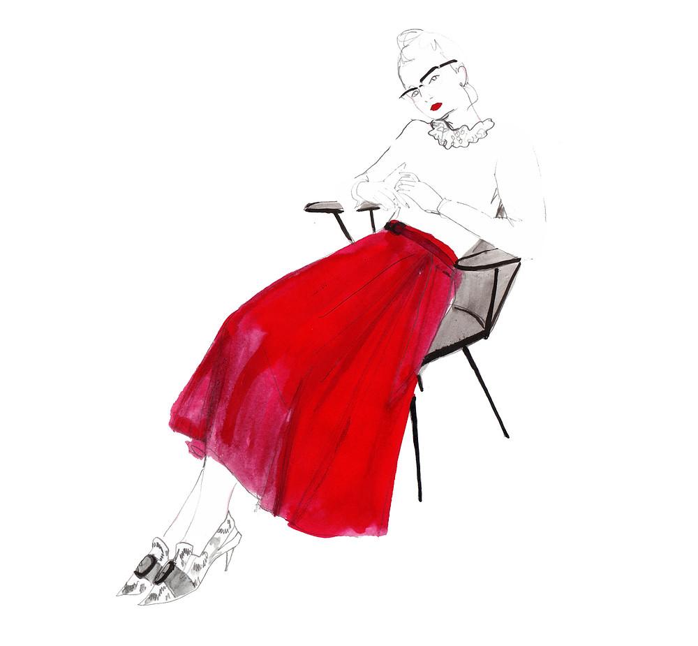 howl magazine, new york, art, interview, illustration, alexandria alexa coe, paris, feminine, watercolor