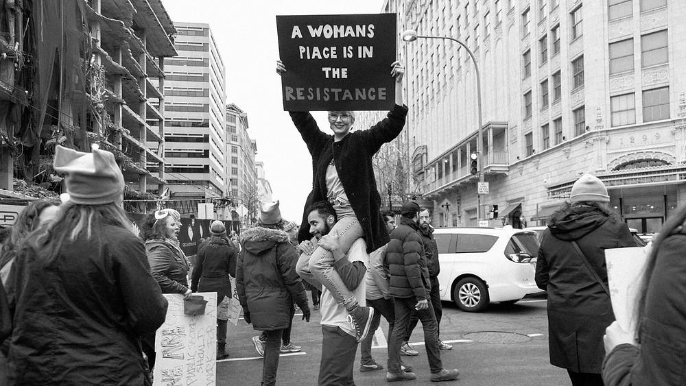 Nina mariah donovan, ashley judd, speech, Tennessee, USA, women's march, activism, poet, poetry, nasty woman, #nastywoman, howl magazine, nyc, washington dc, interview, artist feature, performance art,