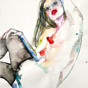 Watercolor Artist Fahren Feingold Debuts Solo Show October 2017