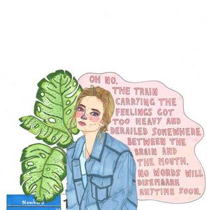 interview, artist feature, howl magazine, new york, illustrator, feminist, body positivity, woman, period, mental illness, montana kitching, australian artist