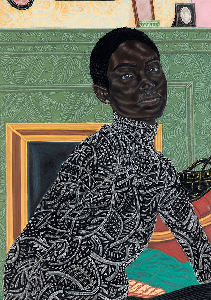 toyin odutola, morgan parker, welcome to the jungle, full poem, poet, poets corner, howl magazine, nyc, new york, nigerian artist, african american art, poc,