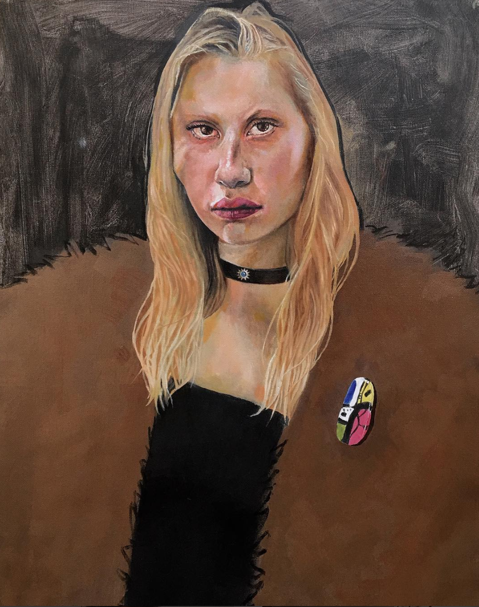 Andre Moya, Painter, san francisco, seattle, oil paint, portrait, portraiture, fine art, mary rosenberger, women, muse, howl magazine, nyc, new york, andré moya, interview, feature