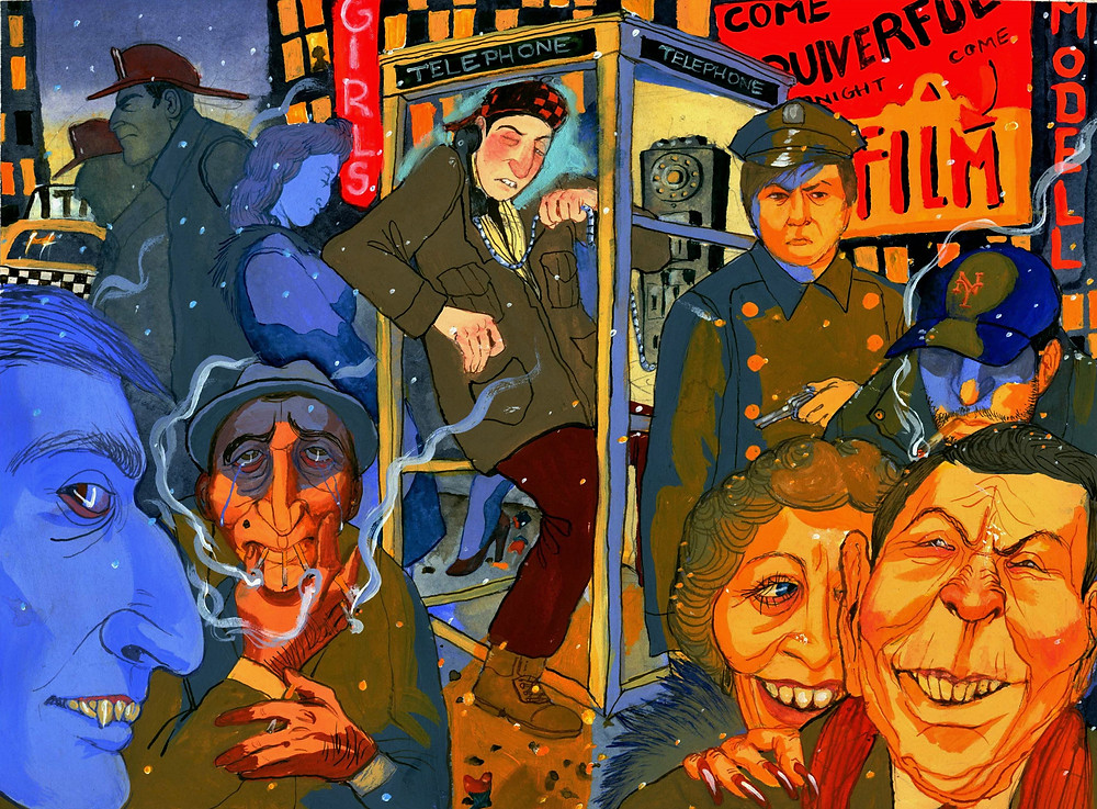 Sara Lorelei Jackson, Greenwich, Connecticut, manhattan, surreal, art, dark humor art, artist, woman, female, dark, cartoon, sex, urban, mythical, painting, illustration, interview, howl magazine, new york, nyc