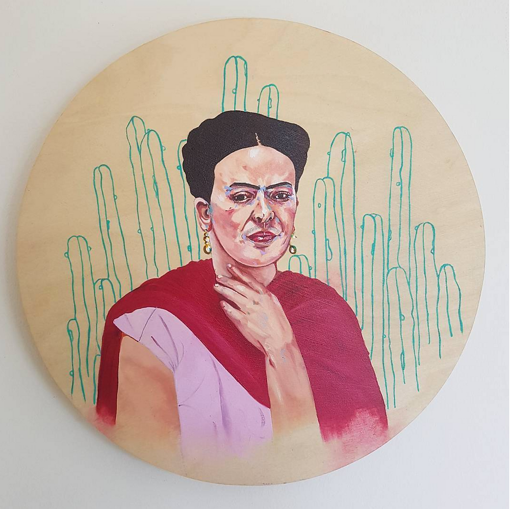 interview, artist feature, howl magazine, new york, illustrator, feminist, body positivity, woman, period, mental illness, montana kitching, australian artist, frida kahlo