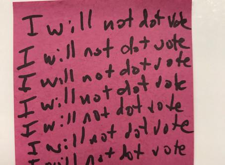 It's the End of Dot Voting as We Know It (And I Feel Fine)
