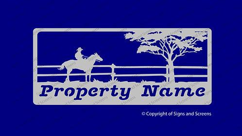 Stockman Farm Sign 1