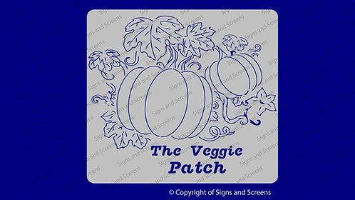 Veggie Farm Sign