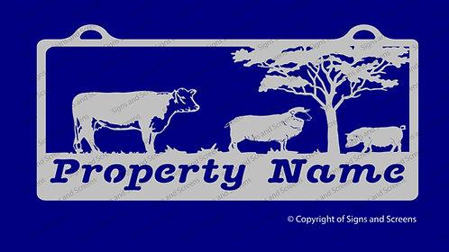 Farm Animal Sign