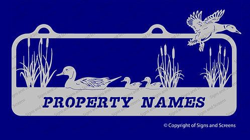 Duck Farm Sign