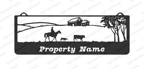 Stockman Farm Sign