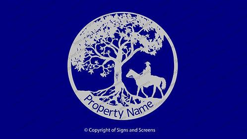Stockman Tree of Life Farm Sign