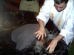Some of the 50+ baptized @ Bosco Hou