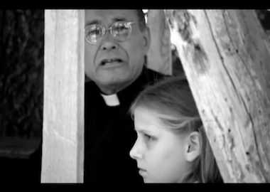 Father Weslin talking with a girl who is having an abortion.jpg