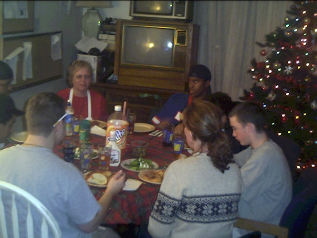 Dinner Christmas Bosco House