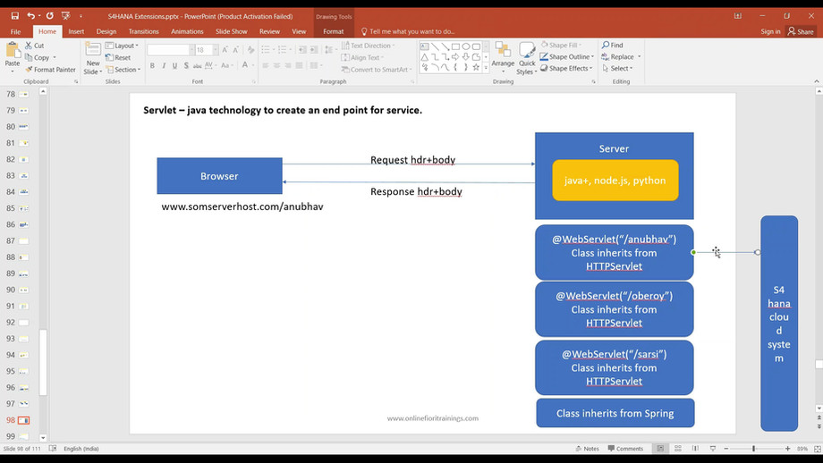 s4 cloud extension training overview