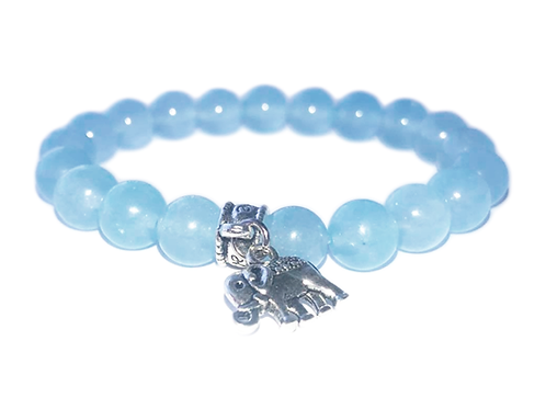 Lyseblå aquamarine