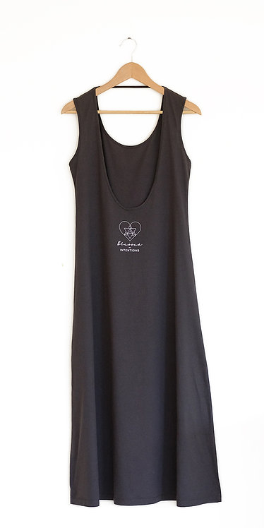 Blessed Dress - dark charcoal