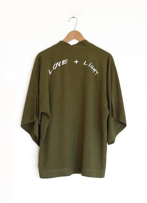Love + Light Jacket - Olive