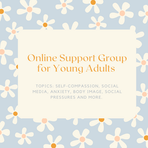 Online Support Group for Young Adults - Starts July 06