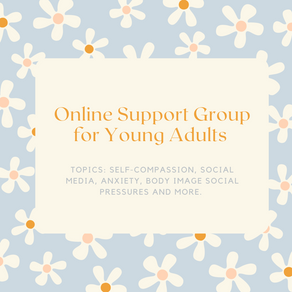 Online Support Group for Young Adults - Starts June 29