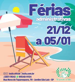 Férias administrativas
