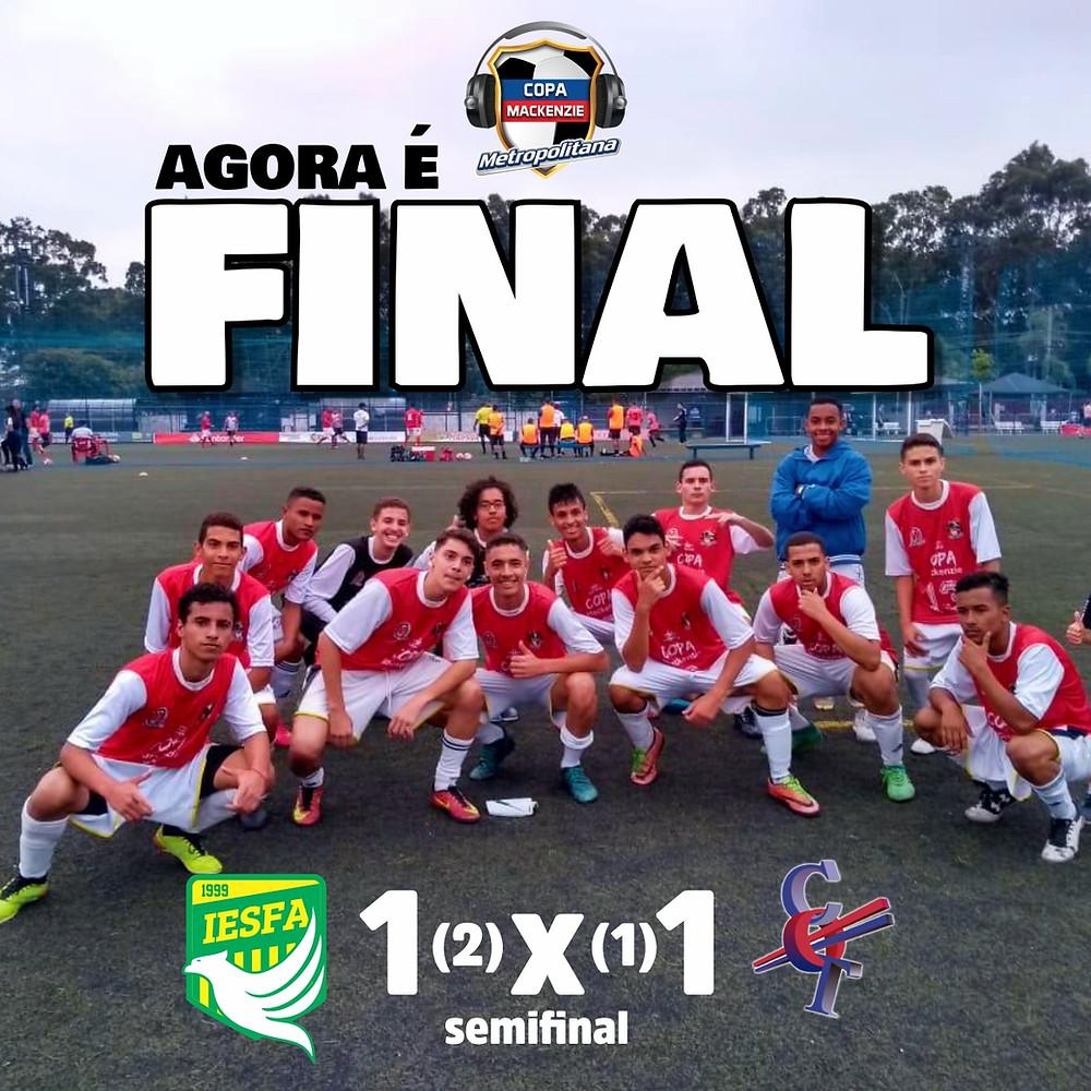 Disputa da semifinal - Copa Mackenzie Metropoligtana 2018 - IESFA