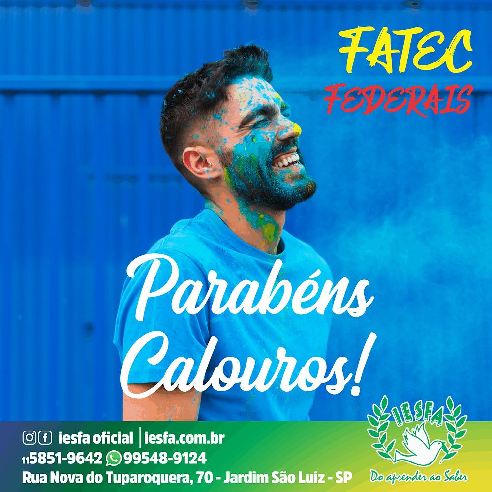 Calouros IESFA 2019/2020