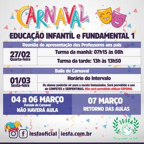 Carnaval no IESFA