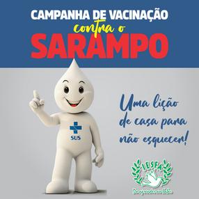 Vacinação contra o SARAMPO!