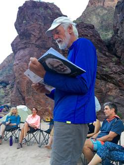 Eric reading about Martin Litton