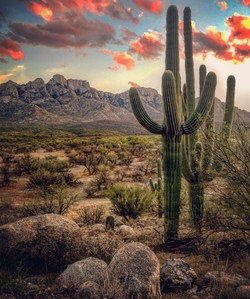 Sunset at Catalina State Park