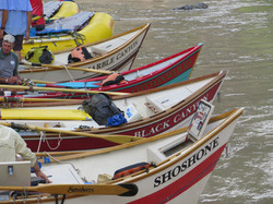 The dories and rafts