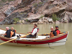 The Black Canyon with boatman Andre