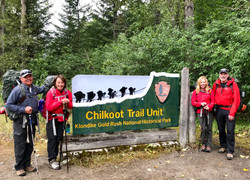 Chilkoot Trailhead Sign