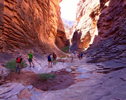 Hiking to North Canyon