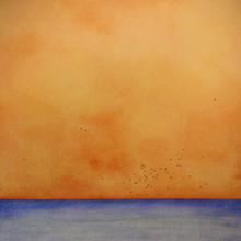 Himlen på jorden 9, 60 x 60cm.