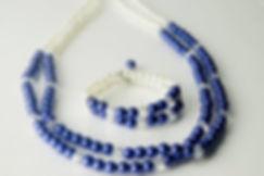 bijuteria colar e pulseira