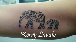 tattoo-elephants-mother-child-baby-arm-mendhi-kerry-lavulo