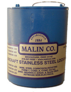 Stainless Steel Safety Wire - .020 (1 lb)
